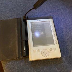 Sony Other - E reader built-in light